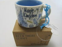 Disney Starbucks Magic Kingdom Mini Mug Ornament Been There Parks + FREE GIFT