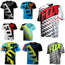 FOX Radtrikot Racing MTB Fahrrad Bike Team Downhill Off-Road Cycling Jersey