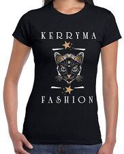 Damen-T-Shirts mit Rundhals für Katzen