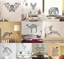 Art Geometric Animals Room Wall Decal Art Sticker Mural Home Vinyl Family LSOA