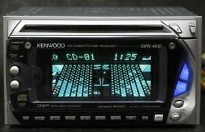KENWOOD DPX-4100 Cassette / CD DSP / EQ / Spectrum Analyzer Translated Used