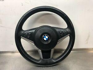 BMW 5 SERIES E60 E61 LCI LEATHER MULTIFUNCTION STEERING WHEEL & AIRBAG