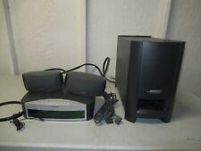 BOSE AV3-2-1 media center Speakers Cables & Acoustimass Module
