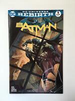 Batman Rebirth #1 Paralel Evren Istanbul Cinar variant signed and remarked