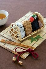 Japanese Bento Rice ball Onigiri Omusubi case box with Bamboo Made in Japan