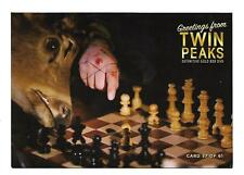 TWIN PEAKS GOLD BOX POSTCARD #57 CHESS POST CARD