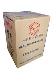 50 Cardboard Packing Boxes Removalist Moving Storage Heavy Duty Tea Chest Carton