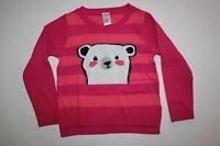 New Gymboree Polar Bear Sweater Weather Top sz 4  year NWT Pink