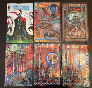 IMAGE COMICS SPAWN YOUNGBLOOD  BLOODFEUD LOT OF 6 issues TODD MCFARLANE