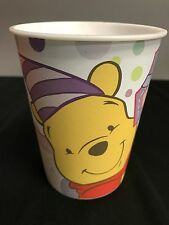 4 Winnie the Pooh FIRST BIRTHDAY HEAVY DUTY Party Cup - Purple - Pink - Disney