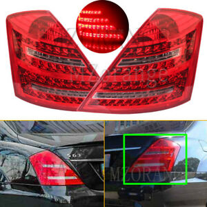 LH & RH Tail Rear Light Stop Brake Lamp for Mercedes Benz S550 S600 W221 2009-12