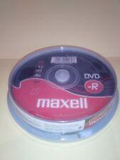 DVD-R GRABABLE MAXELL -  BOBINA TARRINA 10 UNIDADES