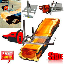 Compact Electric Chainsaw Mill Chain Saw Wood Lumber Carpenter Tools Board Maker