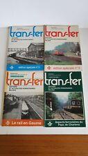 NMBS - SNCB : 4 livres GTF trans-fer, texte en français