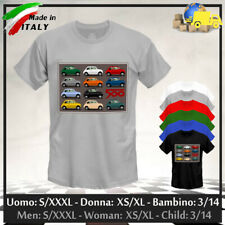"""T-shirt """"FIAT 500"""" Vintage Racing Classic Style Abarth Club Tuning, Coll. 2021!"""
