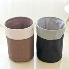Household Folding Cotton And Linen Laundry Basket Storage Tidy Basket SW