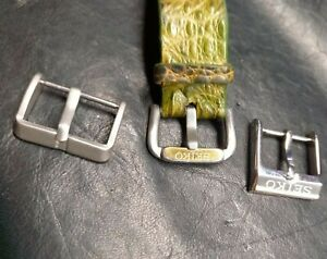 SEIKO watch strap buckle 18mm 20mm tang buckle OEM for leather or rubber strap