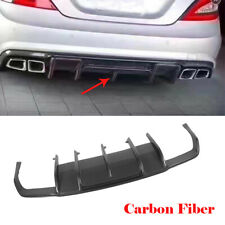 Carbon Diffusor Stoßstangen Heckdiffusor für Mercedes W218 CLS550 CLS63AMG 12-13