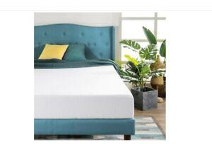 "Zinus 8"" Green Tea Memory Foam Mattress CertiPUR-US Bed-in-a-Box Twin XL Bed NEW"