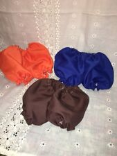"""3 Pair Panties Bloomers fits 16"""" -18"""" Cabbage Patch Kids Doll Underwear Lot"""