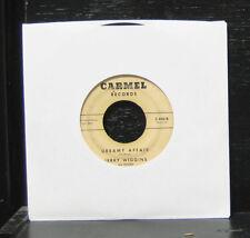 "Jerry Wiggins - Confessions Of A Blues Addict VG 7"" Soul Jazz 45 Carmel C-400"