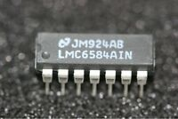 LMC6584AIN National Semiconductor Quad Low Voltage CMOS Op Amp