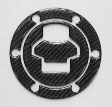 Fuel Gas Cap Cover Pad Sticker Decal Fits BMW F650GS Dakar real carbon fiber