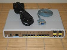 Cisco Catalyst WS-C3560CG-8PC-S GIGABIT Switch 8x GE PoE + 2x Dual Purpose Port