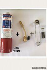 Profire USA Torch c/w Propane Gas Lighter & Spare Flints (90.918)