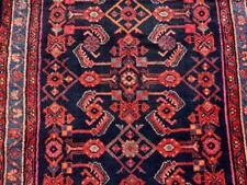 3'6 x 12'8 Semi Antique Kurdish Tribal Handmade Wool Runner Oriental Rug 4 x 13