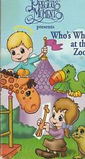 Precious Moments  Who's Who At The Zoo? VHS Very Good