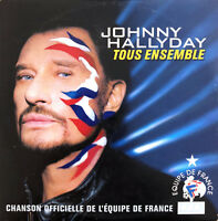 Johnny Hallyday ‎CD Single Tous Ensemble - Europe (VG+/M)