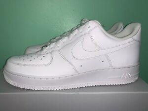 Nike Air Force 1 Low '07 Triple White sz 10 315122-111