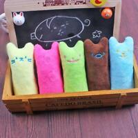 Katzenspielzeug Katzenkissen mit Minze und Knister Effekt aus Plüsch Stoff