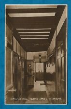 """C1930s RP PC ENTRANCE HALL, """"QUEENS ARMES"""", CHARMOUTH, DORSET"""