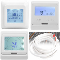 LCD Display Wireless Smart Programmable Temperature Regulator Heating Thermostat