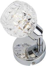 SALE Spot Strahler Lampe Leuchte Wandlampe Wandspot Wandleuchte Glas Dekor TREND