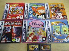 8 x Nintendo Game Boy Advance Spiele teils OVP