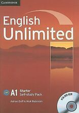 English Unlimited Starter Self-Study Pack (workbook With Dvd-Rom): By Adrian ...