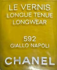 Chanel nail polish 592 GIALLO NAPOLI rare limited edition