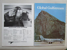 9/1972 PUB GRUMMAN AEROSPACE GULFSTREAM II BUSINESS JET SPECIAL 12 PAGES AD