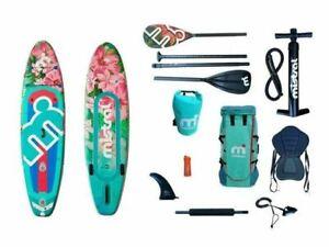 ✅ GEWERBLICH ✅ Mistral Floral SUP Stand Up Paddle Board 320cm + viel Zubehör