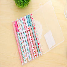 10pcs Hot Sell Unique Color Gel pen Kawaii Stationery korean Flower Style office