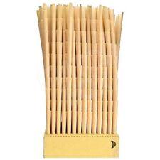 100 Pack Pre-Rolled 1 1/4 Classic Non GMO Unrefined Hemp Paper Cones
