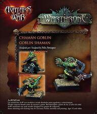 Avatars of War: Goblin Shaman - AOW44 -Warhammer Character