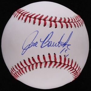 "Jose Bautista Signed OML Baseball (JSA COA) 6× All-Star (2010–2015) ""Joey Bats"""