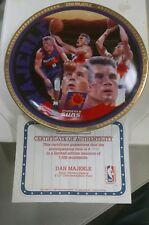 Sports Impressions *Dan Majerle* Nba Basketball Gold Le Plate Mib c34