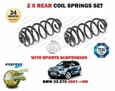 FOR BMW X5 E70 SDRIVE XDRIVE 2007-->ON  2x REAR COIL SPRINGS SET M SPORT MODELS