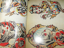 tattoo design book a4 size 86 pages of old school traditional flash nice book