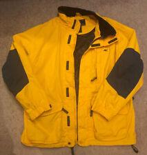 American Eagle AE77 Performance Coat Jacket Mens Size Large yellow/orange SHARP!